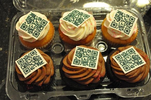 Cupcake QR
