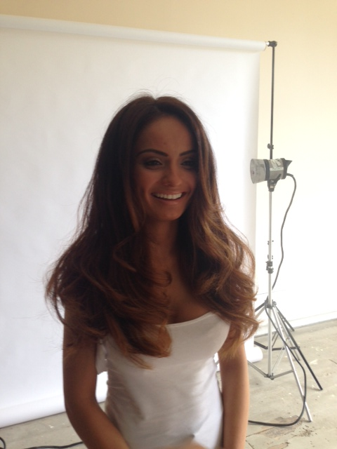 How lush is her hair!? *MODEL NAME HERE* looking very photo ready.